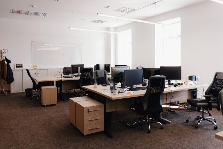 Przygotowanie biura pod wynajem